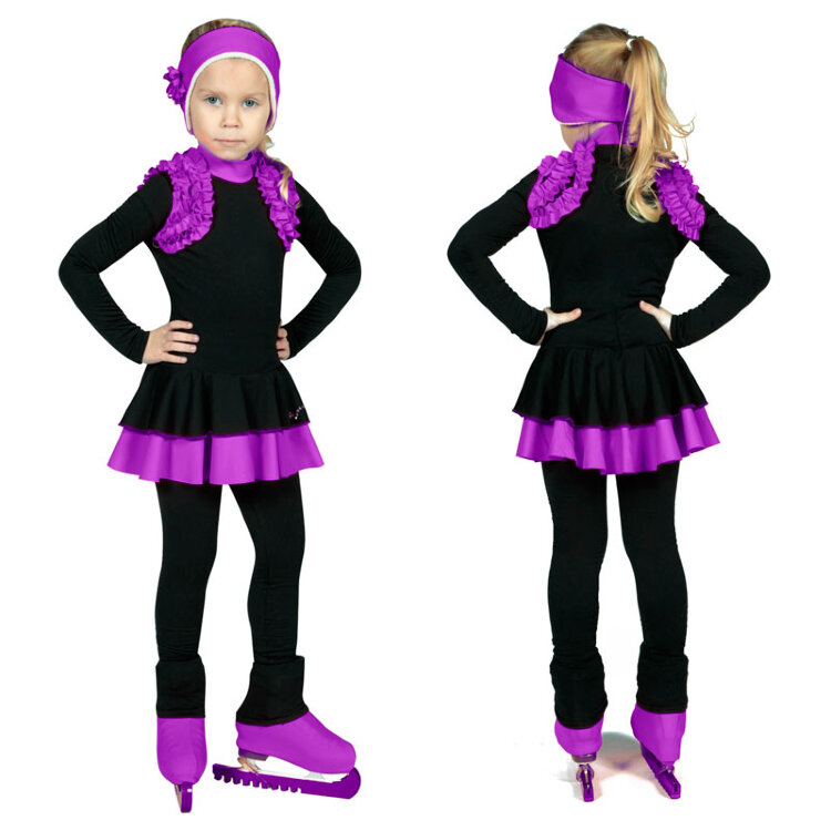 Сшить костюм для фигурного катания для девочки своими руками 5