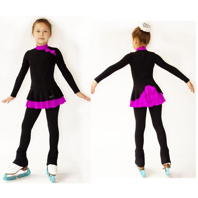 Сшить костюм для фигурного катания для девочки своими руками 10
