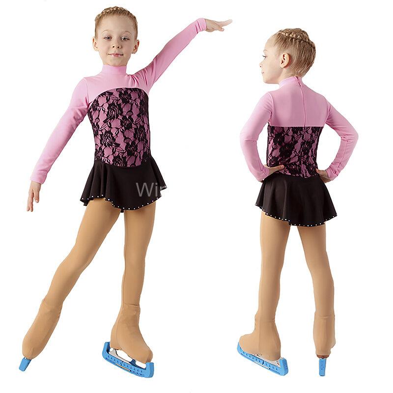 Сшить костюм для фигурного катания для девочки своими руками 23