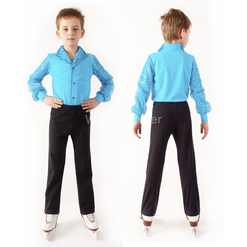 купить бу костюм для мальчика для выступлений по фигурному катания